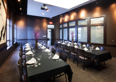 private dining room | Venue Restaurant and Lounge