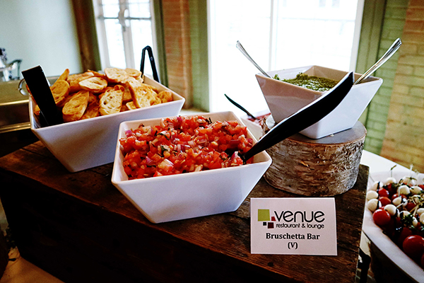 Bruschetta Bar | Venue Catering Lincoln, NE