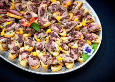catering beef bruschetta | Venue Catering Lincoln, NE
