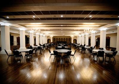 Scottish Rites ballroom